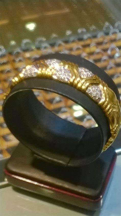Gelang Berlian Emas Kuning toko emas lathif chan februari 2014