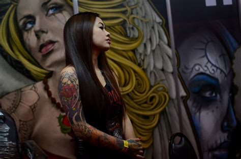 festival tattoo indonesia 2015 indonesian tattoo tradition