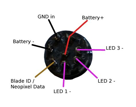lightsaber battery wiring diagram wiring diagram