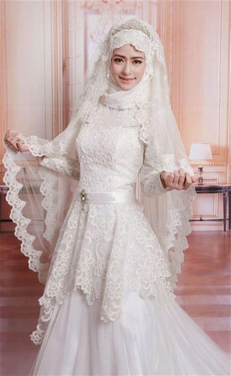 desain gaun kebaya muslimah gambar desain baju nikah koleksi gambar hd