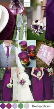 plum wedding colors color inspiration shades of purple plum wedding
