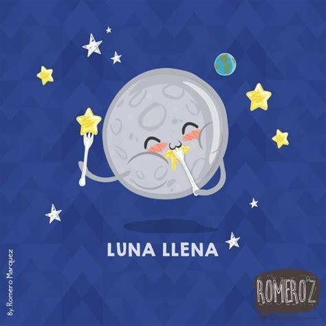 imagenes de la luna kawaii caricatura de luna imagui