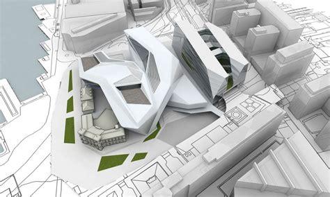 plan masse architecture pinterest une extension ultra moderne pour le mus 233 e d architecture