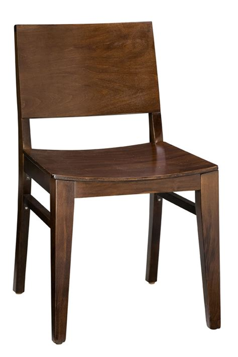 Regal Seating Series 438 Modern Wooden Chair with Square