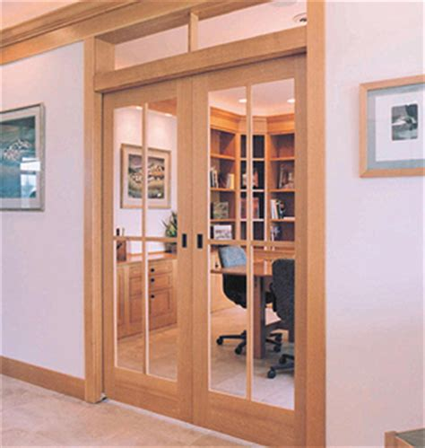 Exterior Pocket Doors With Glass 12 Types Interior Door Alternatives