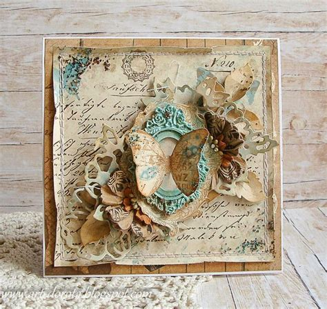 25 best ideas about mixed media cards on mix