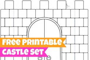 cut out castle template 16 best photos of 3d castle templates paper cut out 3d