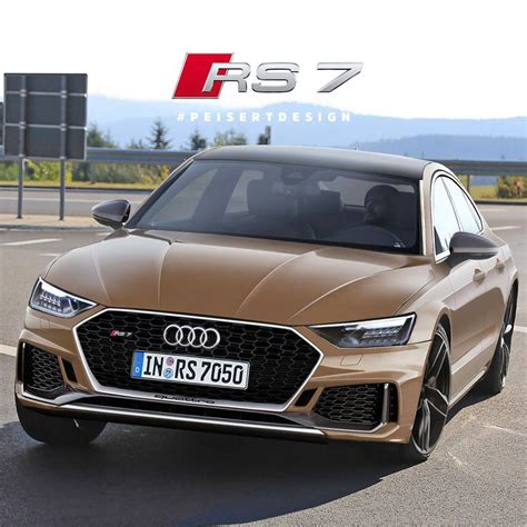 new audi rs7 2018 new audi rs7 coming in late 2018 e version with 700