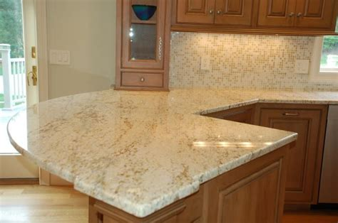 Honey Colored Kitchen Cabinets by Colonial Cream Granite Buy Granites