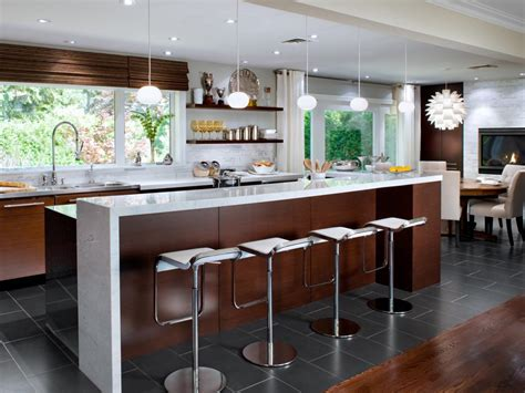 modern kitchen design ideas large kitchen window treatments hgtv pictures ideas hgtv