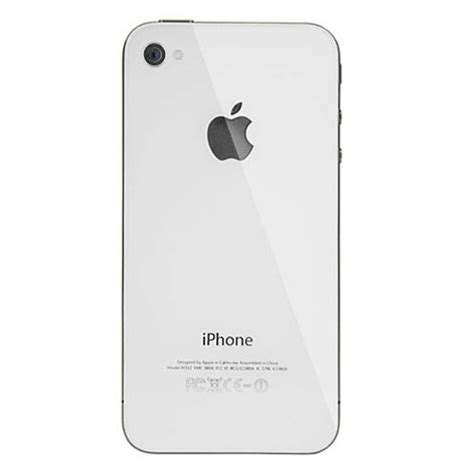 Back Casing Apple Iphone 3g Plus Bazzel iphone 4 verizon sprint blank back white ballyhoo technologies llc