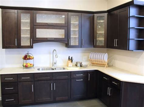 Black Kitchen Cabinets Small Kitchen Modern Kitchen Cabinets Design Black And White Modern House