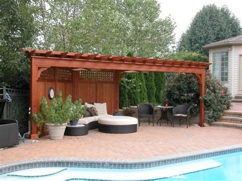 Privacy Wall For Backyard by Privacy Wall Back Yard Improvements