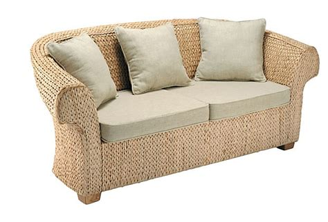 seagrass loveseat seagrass sectional sofa home design interior and garden