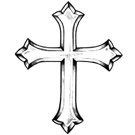 printable coloring pages crosses printable pictures of crosses clipart best