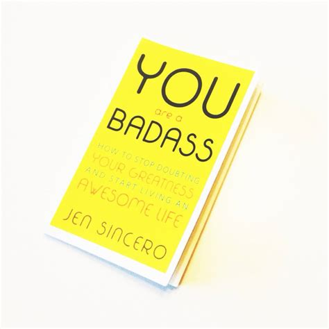you are a badass read it think it do it rebecca gambino