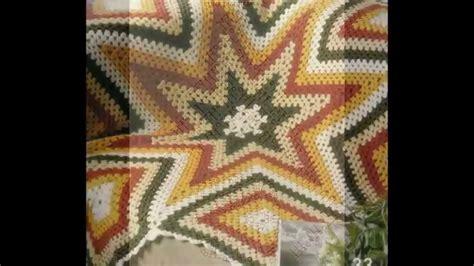 como tejer crochet para colcha en cuadros como tejer colcha de estrellas y cuadros multicolor a