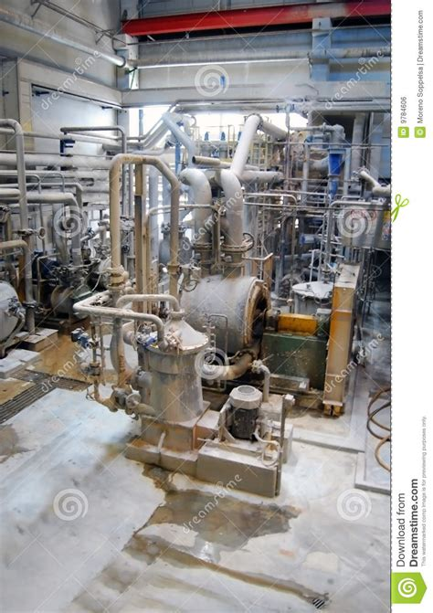 paper and pulp mill stock paper and pulp mill de inking royalty free stock image image 9784606