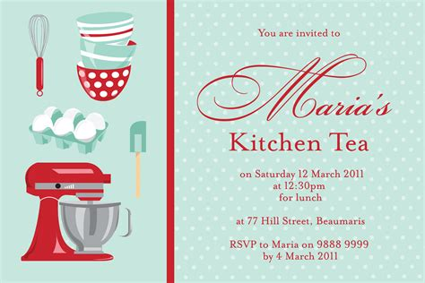 kitchen tea invitation ideas kt 002 kitchen tea invitations li designs