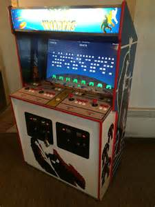 Space Invaders Cabinet Space Invaders Deluxe Custom Hyperspin Arcade