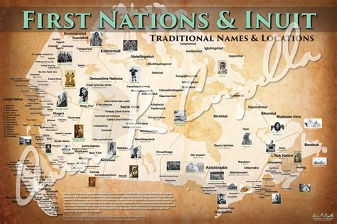 canadian map of indian tribes going back in time a j canada s environmental voice
