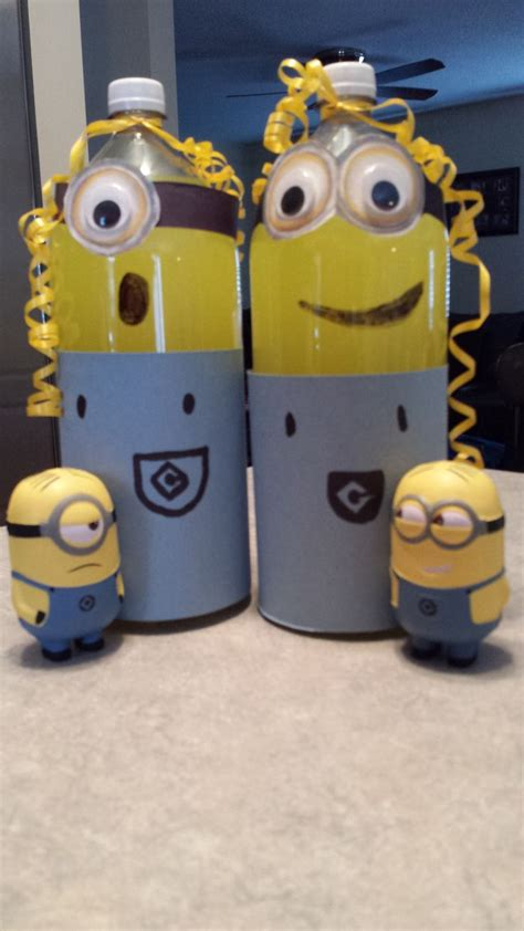 Minions Decoration by Minion Soda Bottle Decorations Birthday Ideas