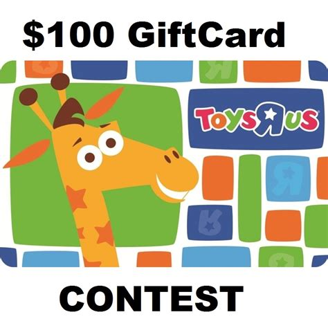 Toys Are Us Gift Cards - 100 toys r us gift card contest entertain kids on a dime