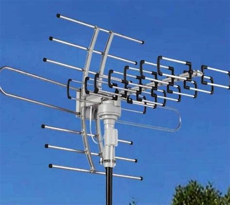 150miles outdoor tv antenna 360 176 motor lified hdtv high gain 36db uhf vhf ebay