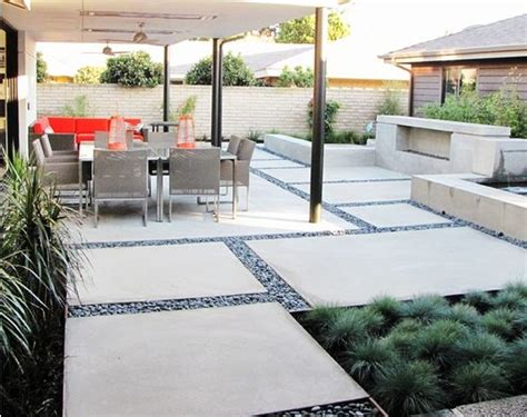 cement backyard ideas 12 diy inspiring patio design ideas