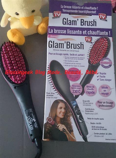 avis sur la brosse lissante en cramique elite reviews mon avis sur la glam brush le blog de glossing geek