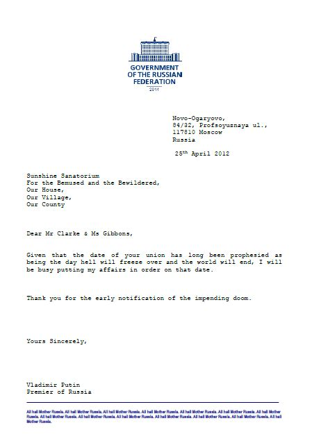Rejection Letter For Marriage wedding rejection letters cathy c clarke