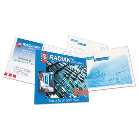 inkjet printable postcards postcards inkjet 4 x 6 2 cards sheet white 100 cards