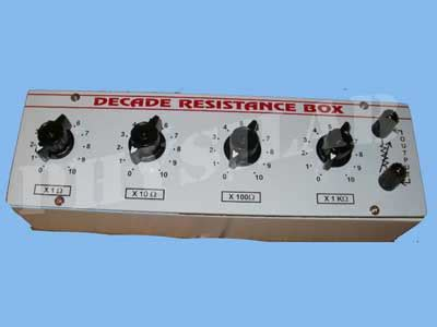 decade resistance box uses decade resistance box manufacturer manufacturer from india id 177035