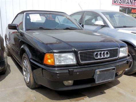 Audi Cabriolet Parts by 1996 Audi Cabriolet Parts Car Stock 005378