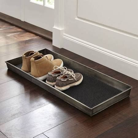 Shoe Mats For Entryway 17 best ideas about shoe tray on boot tray river rock decor and entryway