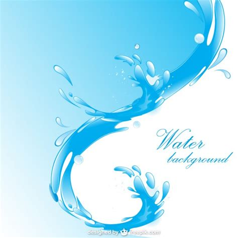 Water Layout Vector | water wave background vector free download