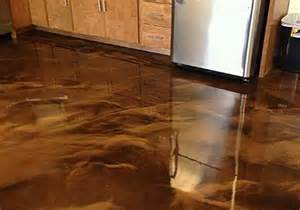 Basement Epoxy Floor Paint by Pebble Floors