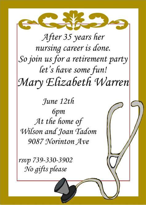 template retirement lunch invitation template