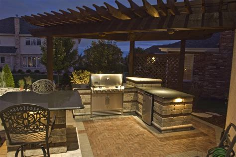 Outdoor Kitchen Lighting Outdoor Kitchen Lighting 18 Essentials For A Atmosphere Interior Exterior Doors