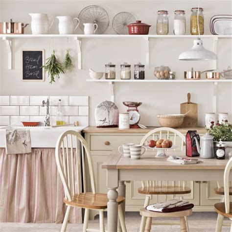 country kitchen shelving a country kitchen with open shelving top design ideas