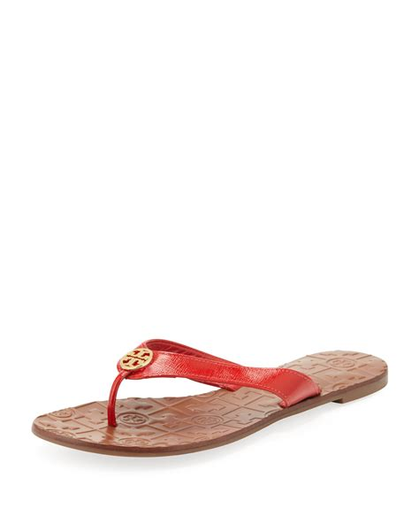 burch thora sandals burch thora 2 patent sandal in