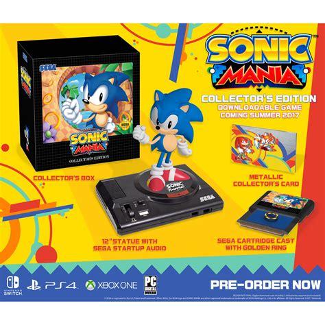 Sonic Mania Collector Edition Ps4 sega sonic mania collector s edition ps4 sm 63207 1 b h