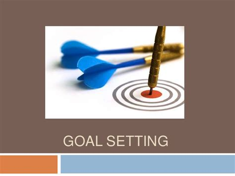 set powerpoint template goal setting powerpoint