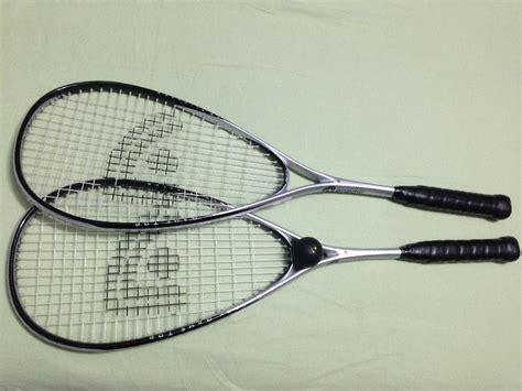 Bola Squash Dunlop Dots 2 raquetes e 1 bola de squash vazlon brasil