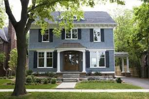 What Is The Best Gray Blue Paint Color For Outside Shutters Slate Blue Paint Color Scheme For Exterior House Those