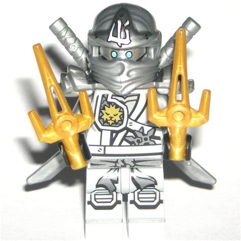 Lego Ninjago Minifigure Frakjaw Silver Bone lego ninjago zane zukin minifigure authentic titanium silver 70748 lego
