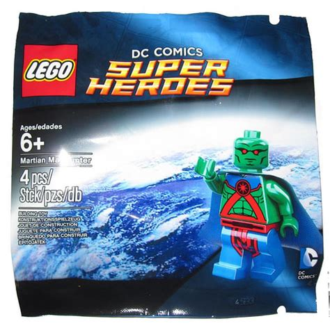 Dijamin Lego Minifigure Martian Manhunter Polybag the brick fan tag archive lego dc universe heroes