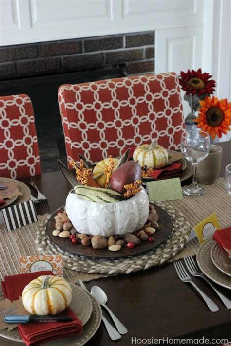 home made thanksgiving decorations simple thanksgiving table decoration hoosier homemade