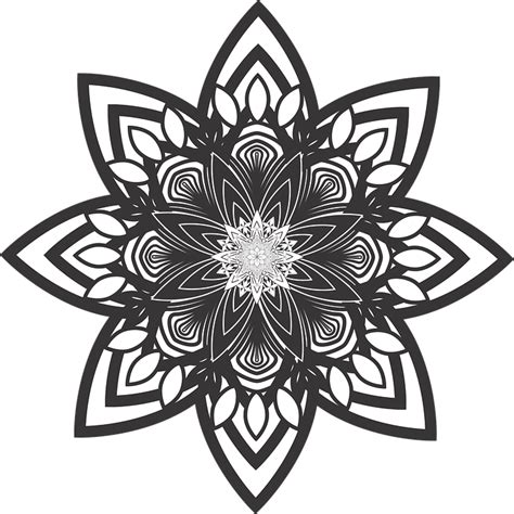 mandala tattoo png free vector graphic mandala flower pattern healing