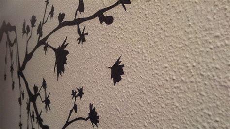 decorar pared de gotele vinilos en paredes con gotel 233